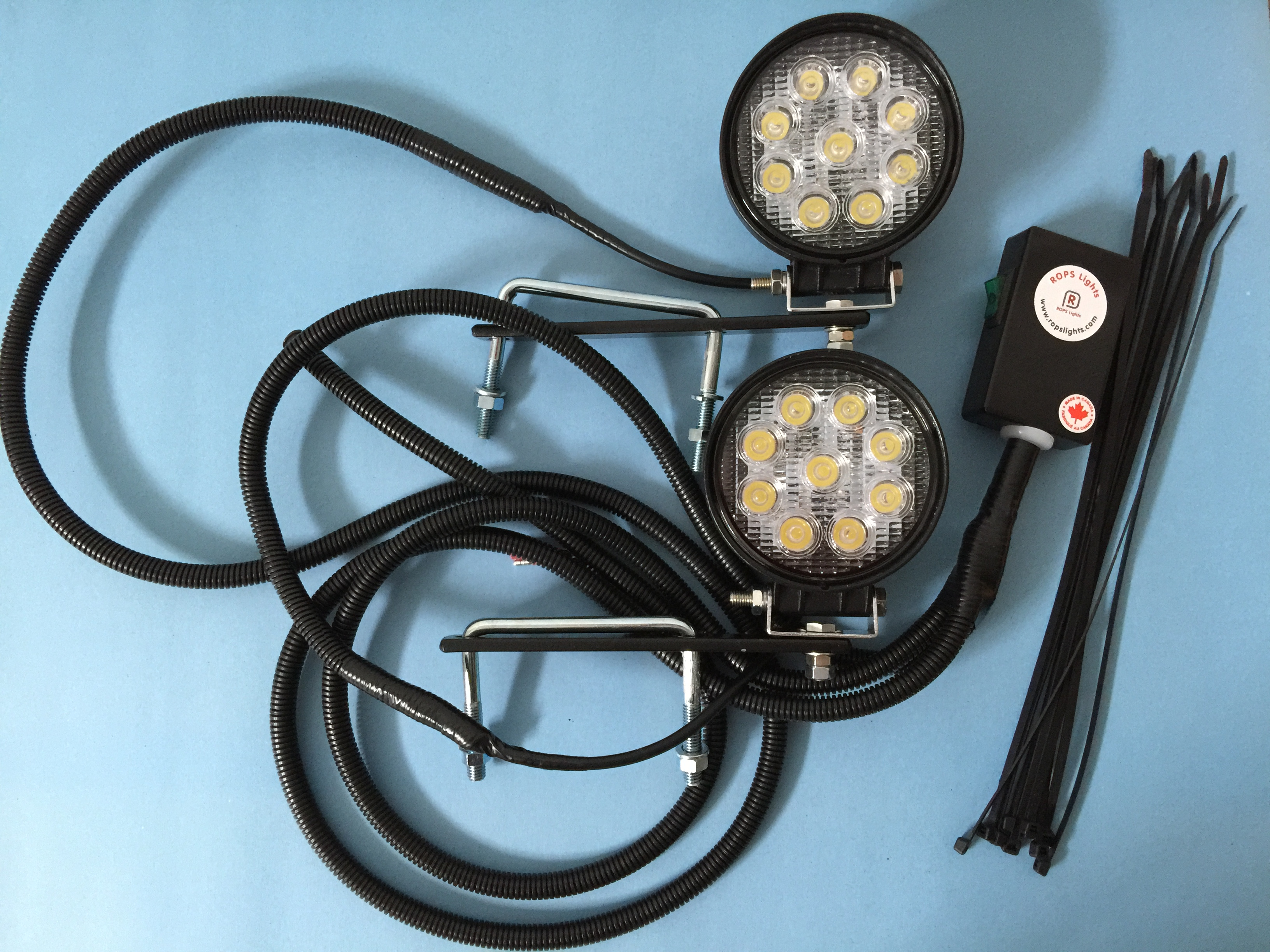 New Holland Tractor Led Lights : New holland ls tractor rops lights led worklight kits