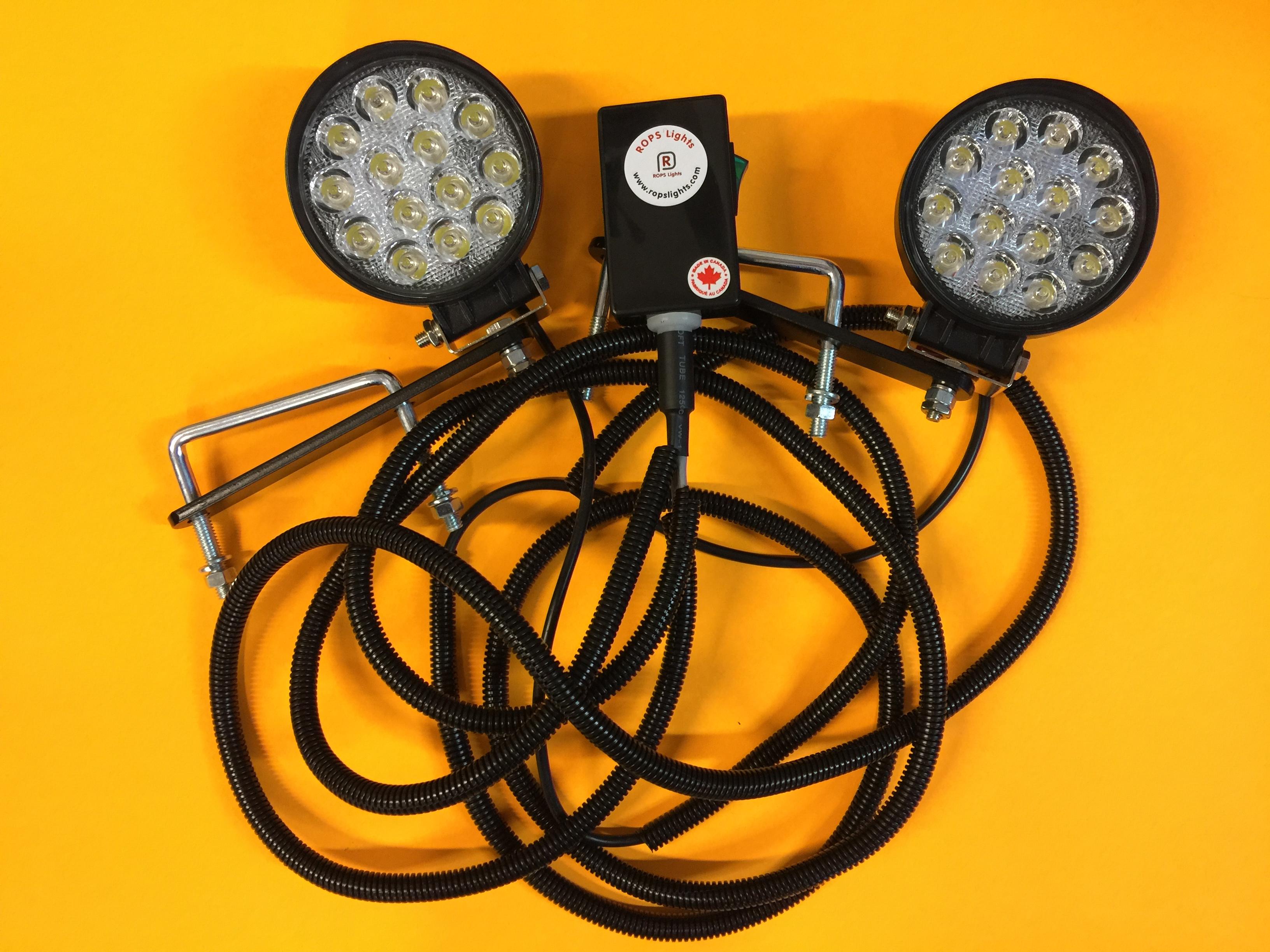 Kubota Bx Series Rops Lights Led Worklight Kits