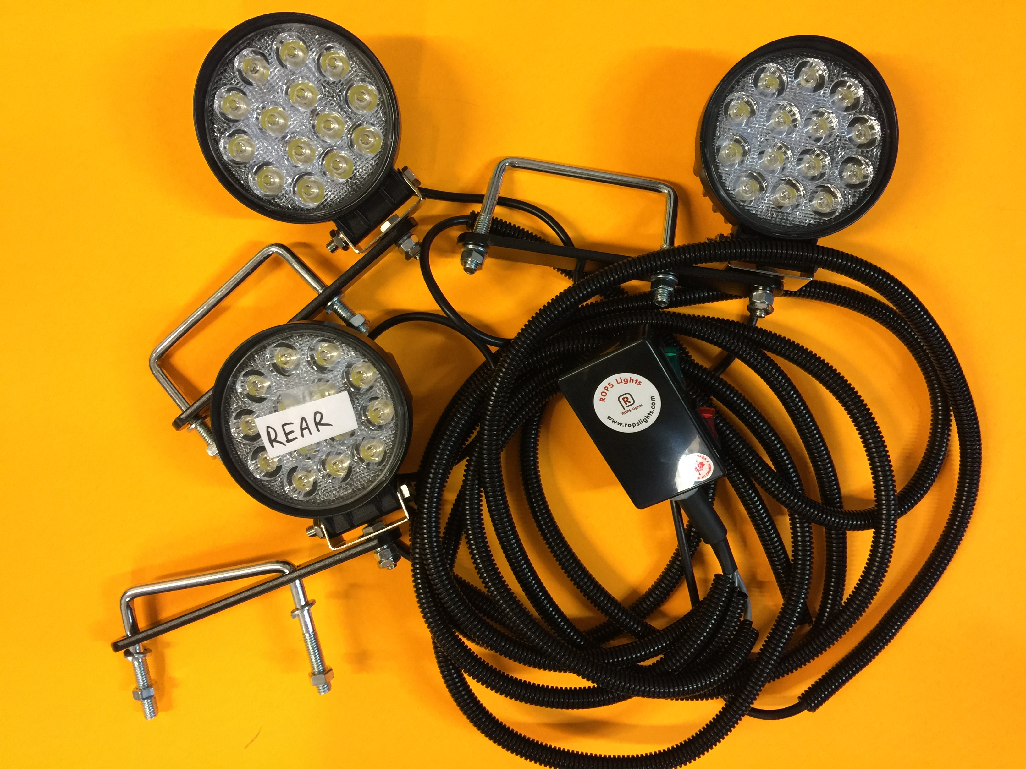 Kubota L Series ROPS Lights LED Worklight Kits
